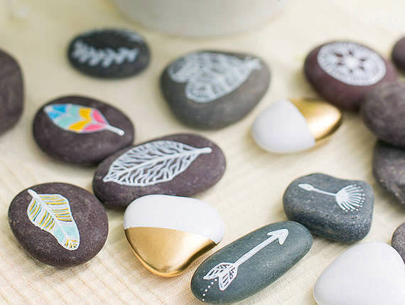 Best ideas about DIY Painted Rocks . Save or Pin 7 Creative Ways To Decorate Rocks Now.
