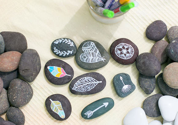 Best ideas about DIY Painted Rocks . Save or Pin 7 Creative Ways To Decorate Rocks ⋆ Handmade Charlotte Now.