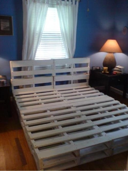 Best ideas about DIY Pallet Bed Frame . Save or Pin Pallet Furniture DIY Crafts Directory of Free Projects Now.