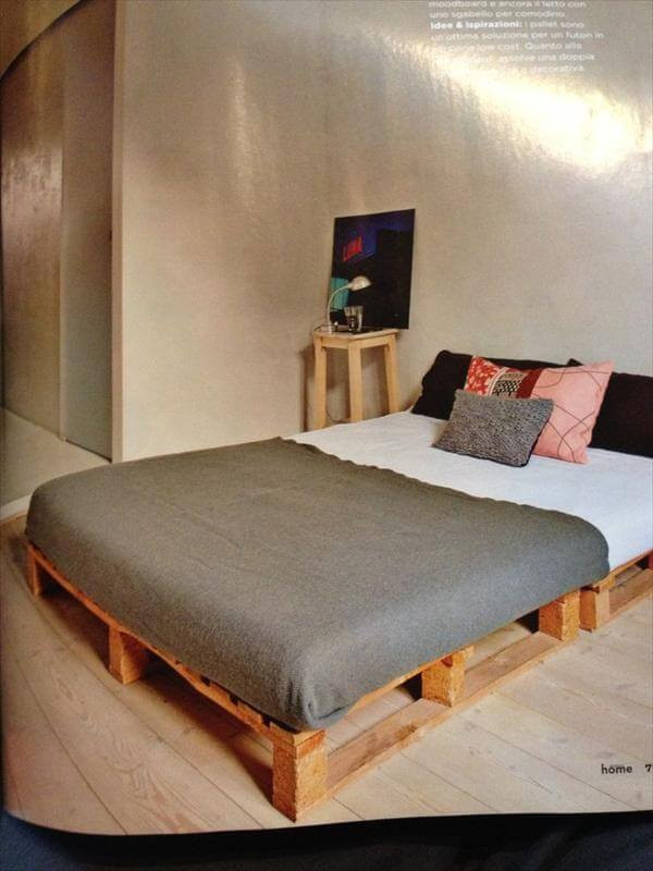 Best ideas about DIY Pallet Bed Frame . Save or Pin DIY 20 Pallet Bed Frame Ideas Now.