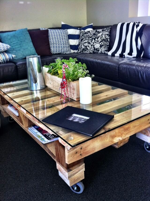 Best ideas about DIY Pallet Coffee Table . Save or Pin DIY Pallet Coffee Table Tutorial Now.
