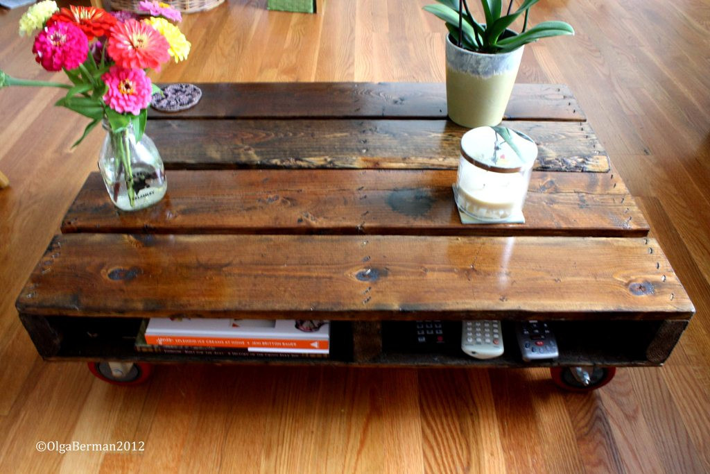 Best ideas about DIY Pallet Coffee Table . Save or Pin Mango & Tomato DIY Make Your Own Pallet Coffee Table Now.