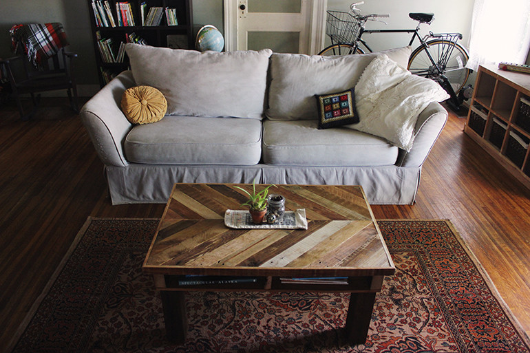 Best ideas about DIY Pallet Coffee Table . Save or Pin DIY Pallet Coffee Table The Merrythought Now.