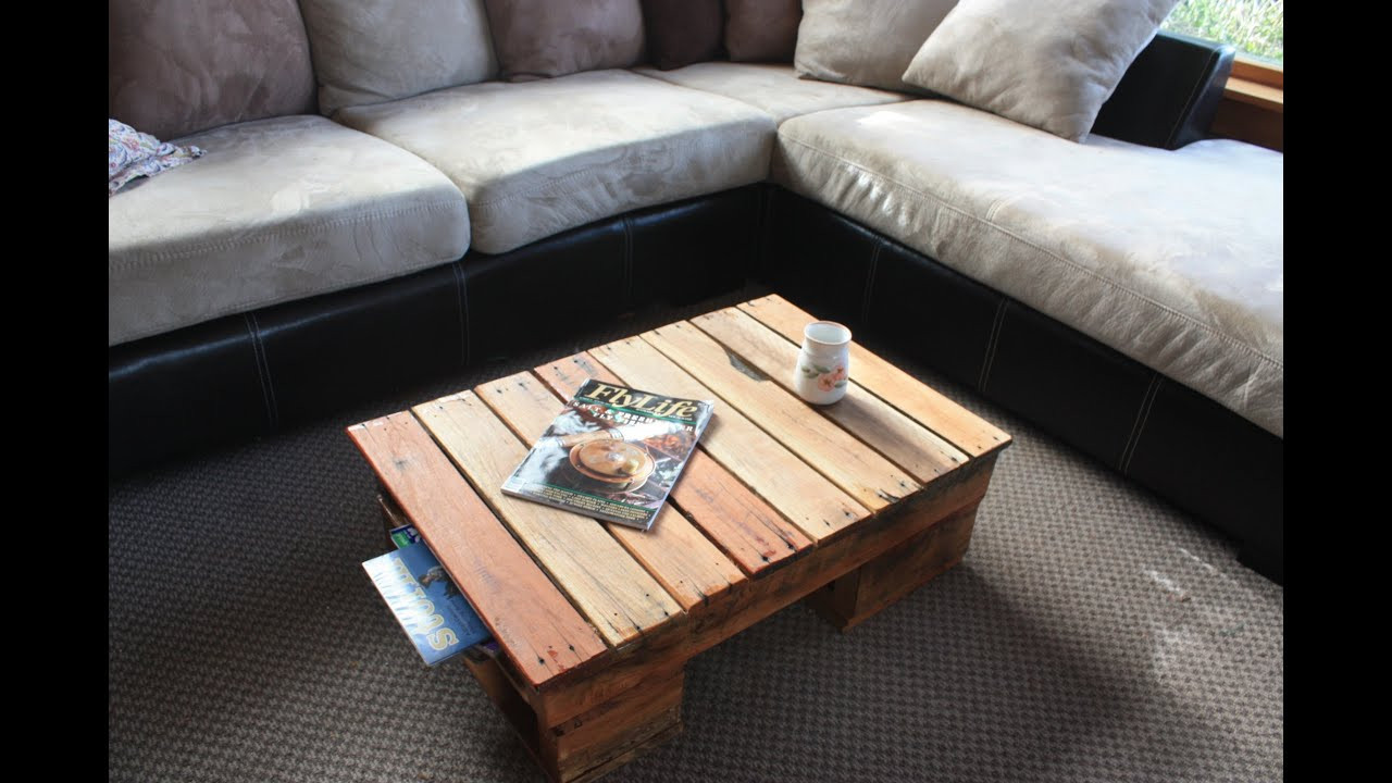 Best ideas about DIY Pallet Coffee Table . Save or Pin DIY pallet coffee table Now.