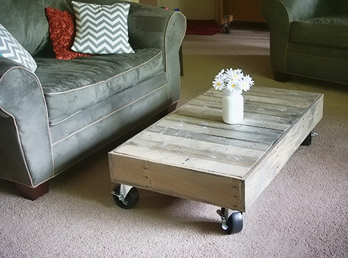 Best ideas about DIY Pallet Coffee Table . Save or Pin 18 DIY Pallet Coffee Tables Now.
