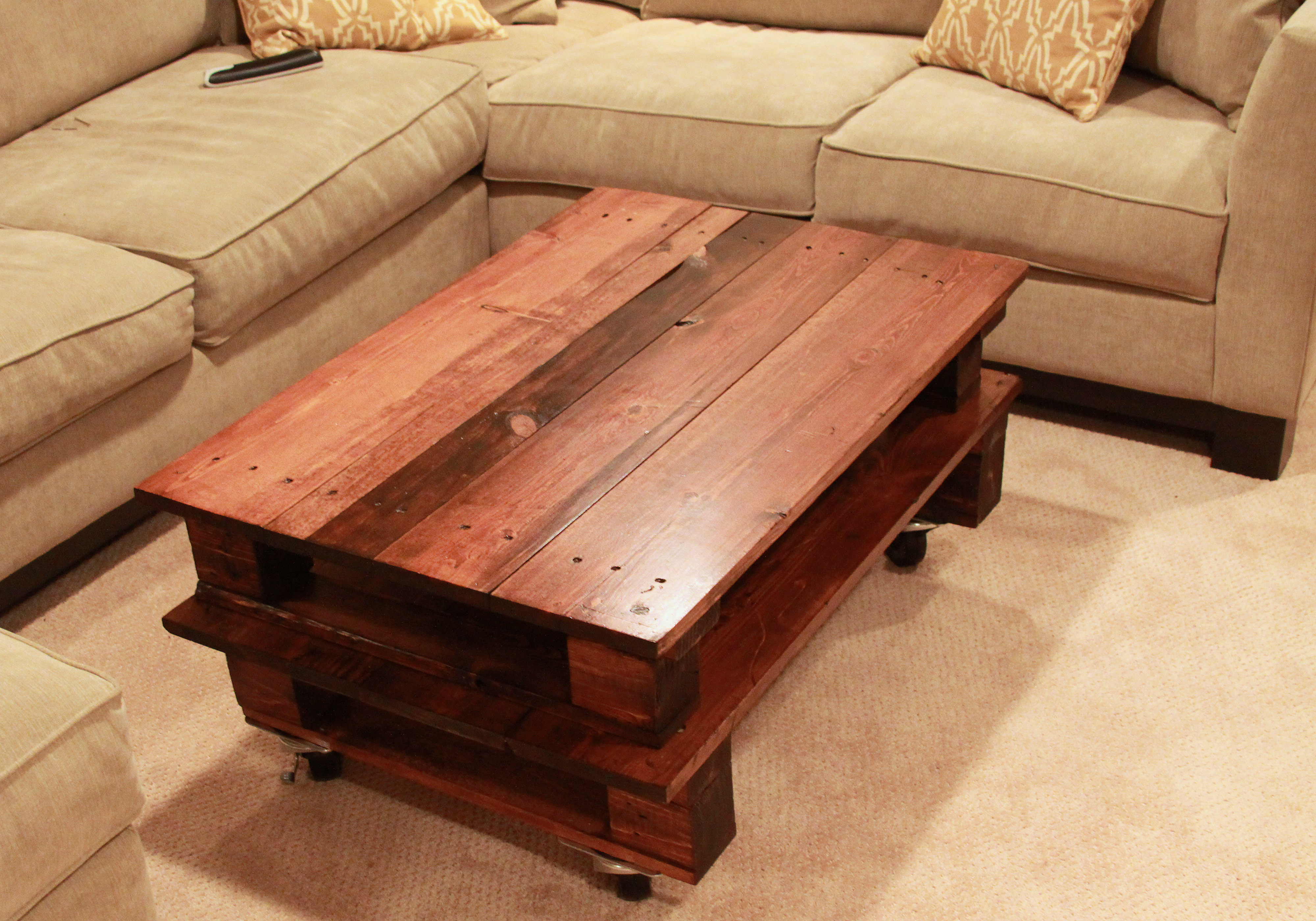 Best ideas about DIY Pallet Coffee Table . Save or Pin DIY Pallet Coffee Table Espresso and CreamEspresso and Cream Now.
