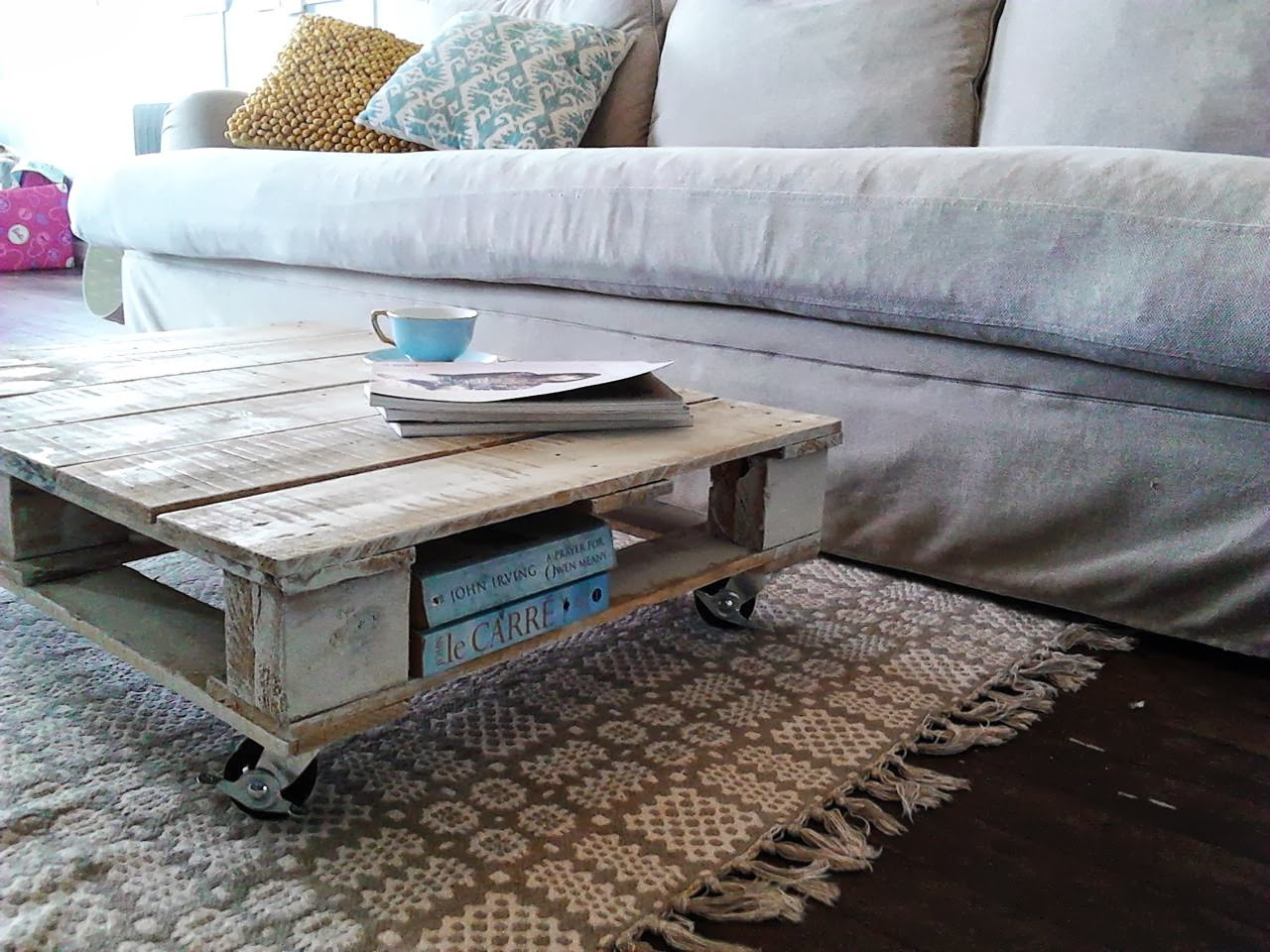 Best ideas about DIY Pallet Coffee Table . Save or Pin Chamomile & Peppermint DIY Up cycled Pallet Coffee Table Now.