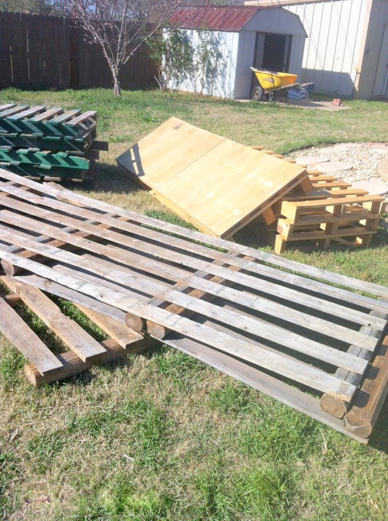 Best ideas about DIY Pallet Deck . Save or Pin Remodelaholic Now.