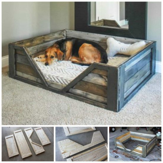 Best ideas about DIY Pallet Dog Beds . Save or Pin How To Make A DIY Pallet Dog Bed For Your Furbaby Now.