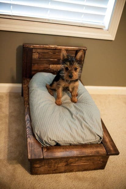 Best ideas about DIY Pallet Dog Beds . Save or Pin How To Make The Easiest DIY Pallet Dog Bed Now.