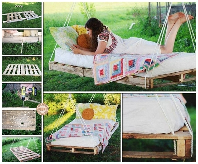Best ideas about DIY Pallet Swing Bed . Save or Pin DIY Patio and Garden Swings 20 Fabulous Ideas Now.