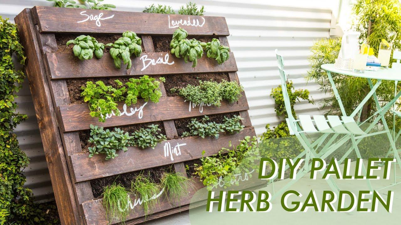 Best ideas about DIY Pallets Garden . Save or Pin DIY Shipping Pallet Herb Garden Now.