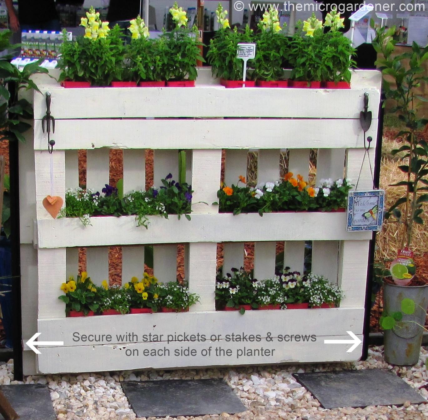 Best ideas about DIY Pallets Garden . Save or Pin DIY Pallet Planter Now.