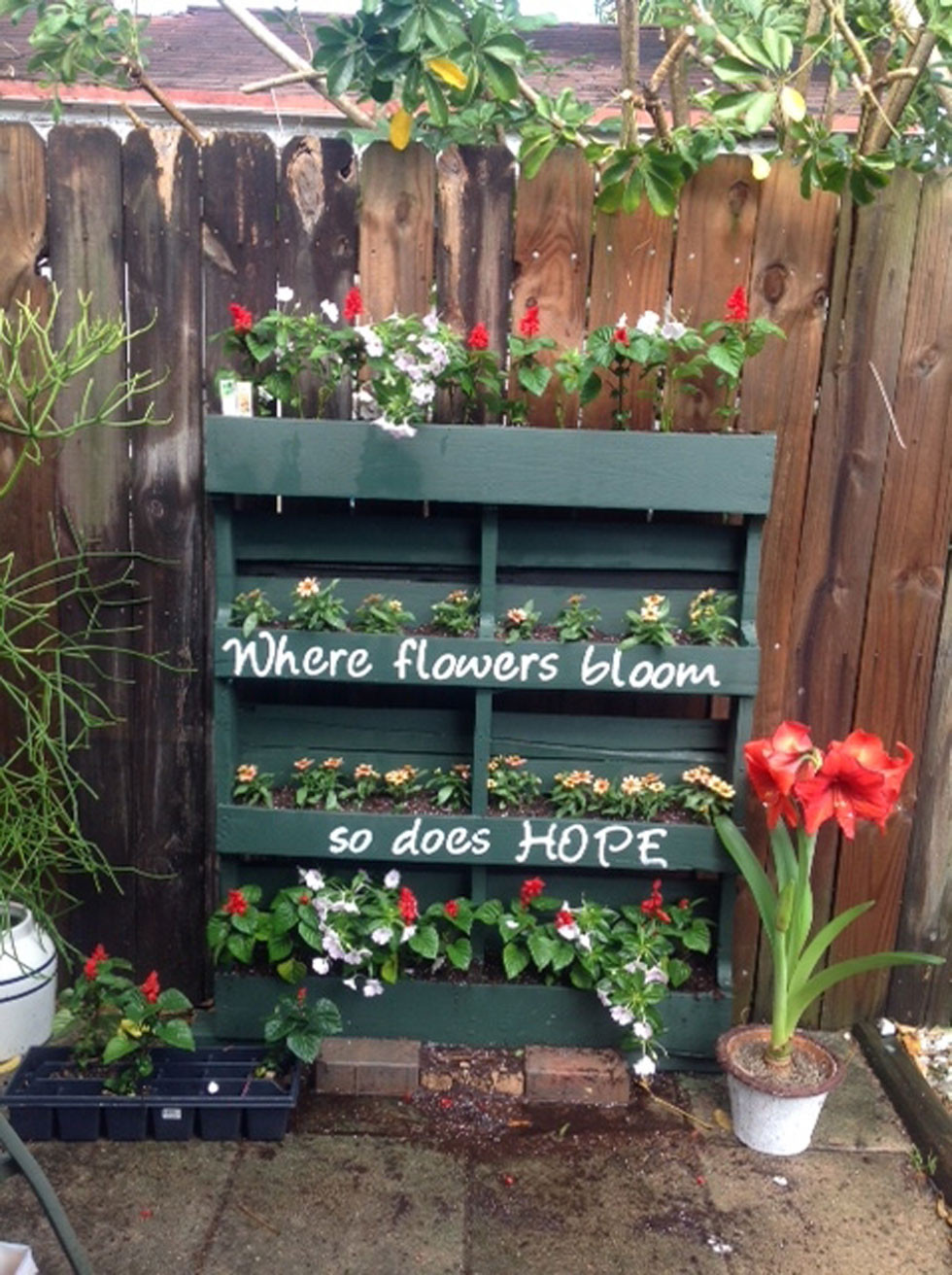 Best ideas about DIY Pallets Garden . Save or Pin Wood Pallet Crafts Easy Craft Ideas Now.