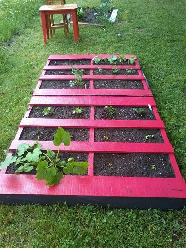 Best ideas about DIY Pallets Garden . Save or Pin 5 DIY Pallet Garden Projects Now.