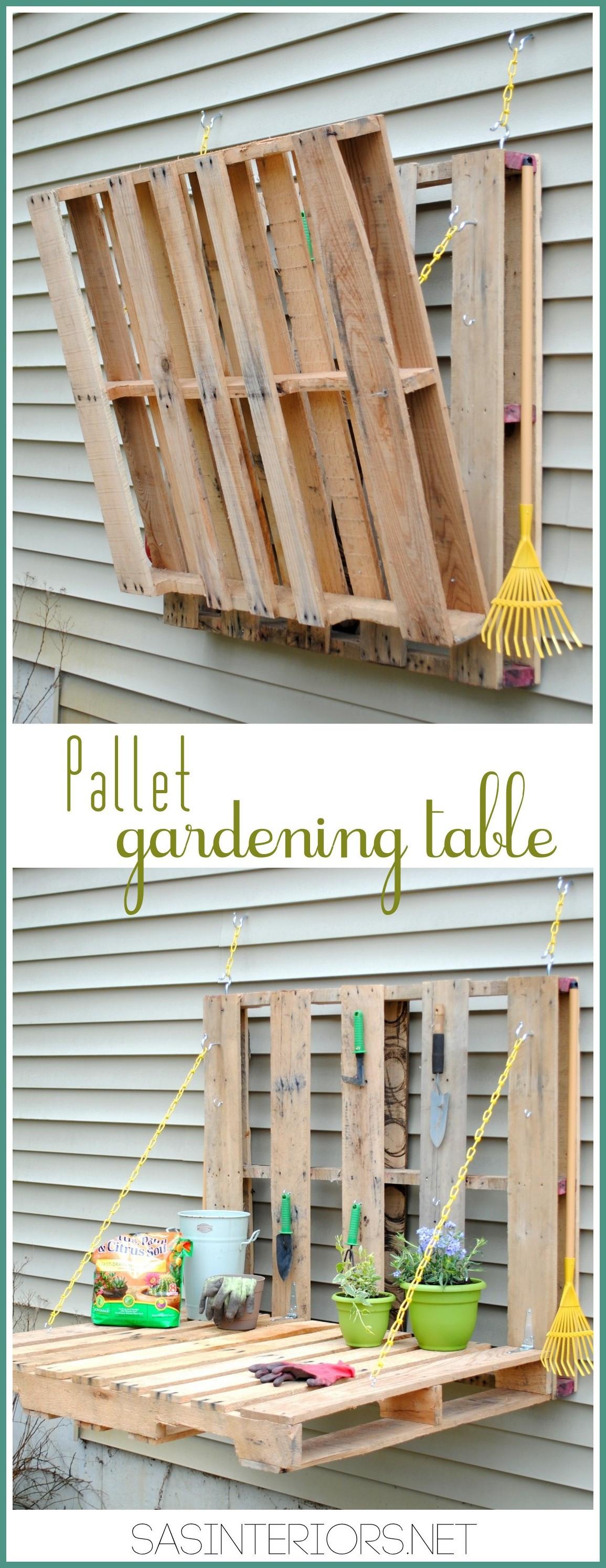 Best ideas about DIY Pallets Garden . Save or Pin DIY Garden Planters and DIY Garden Art Deja Vue Designs Now.