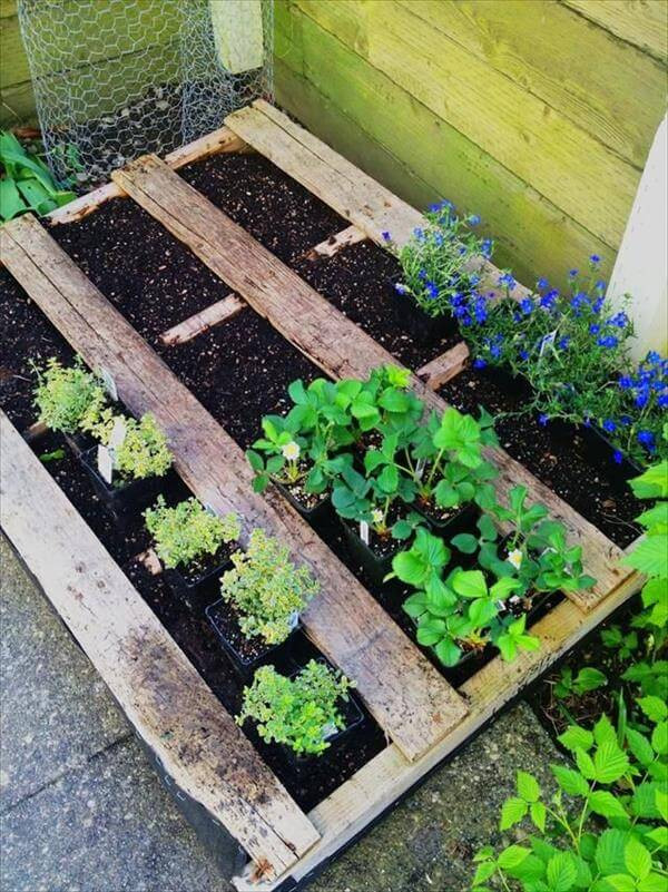 Best ideas about DIY Pallets Garden . Save or Pin 30 DIY Furniture Made From Wooden Pallets Now.