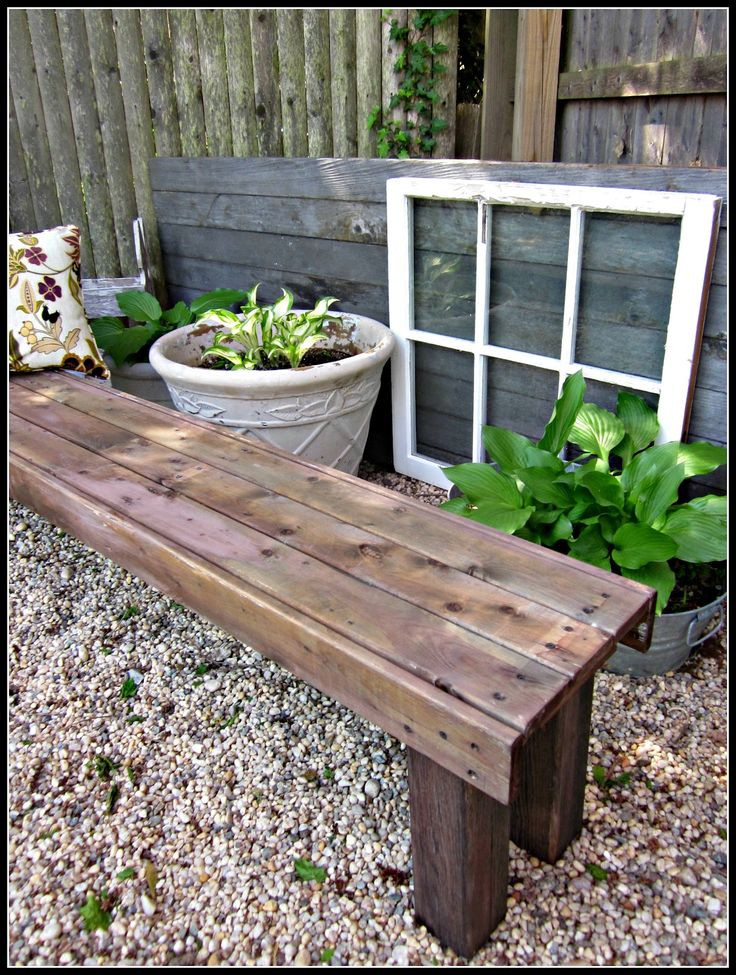 Best ideas about Diy Patio Bench . Save or Pin 25 best ideas about Deck Benches on Pinterest Now.