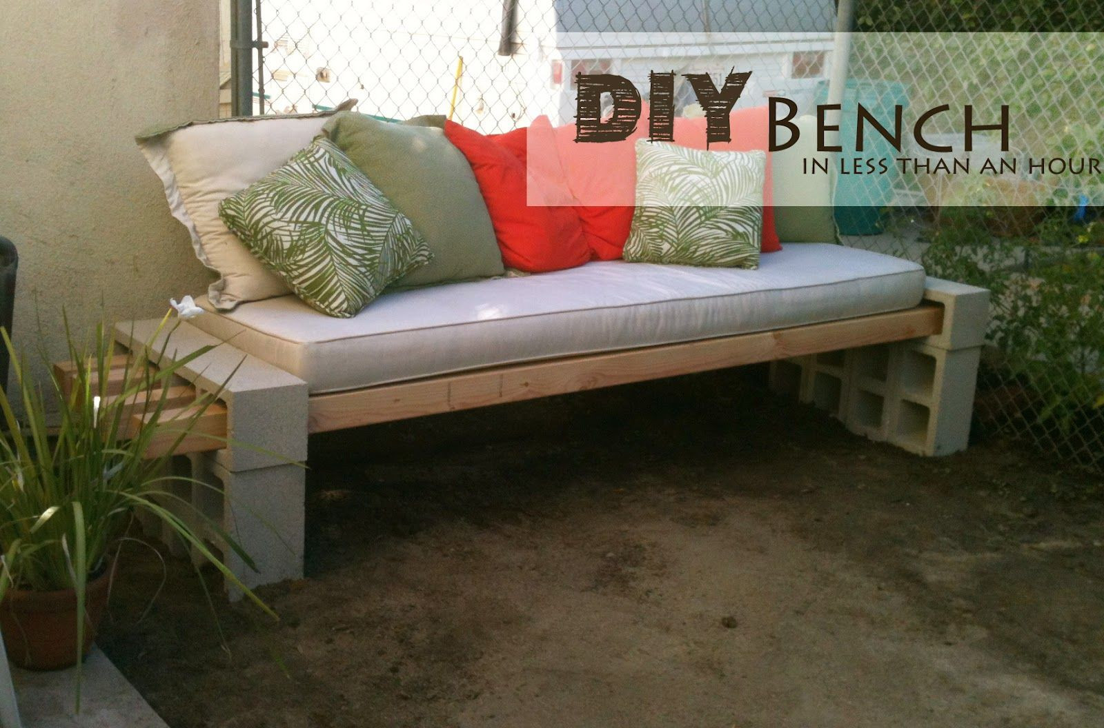 Best ideas about Diy Patio Bench . Save or Pin Easy DIY Patio Furniture Projects You Should Already Start Now.