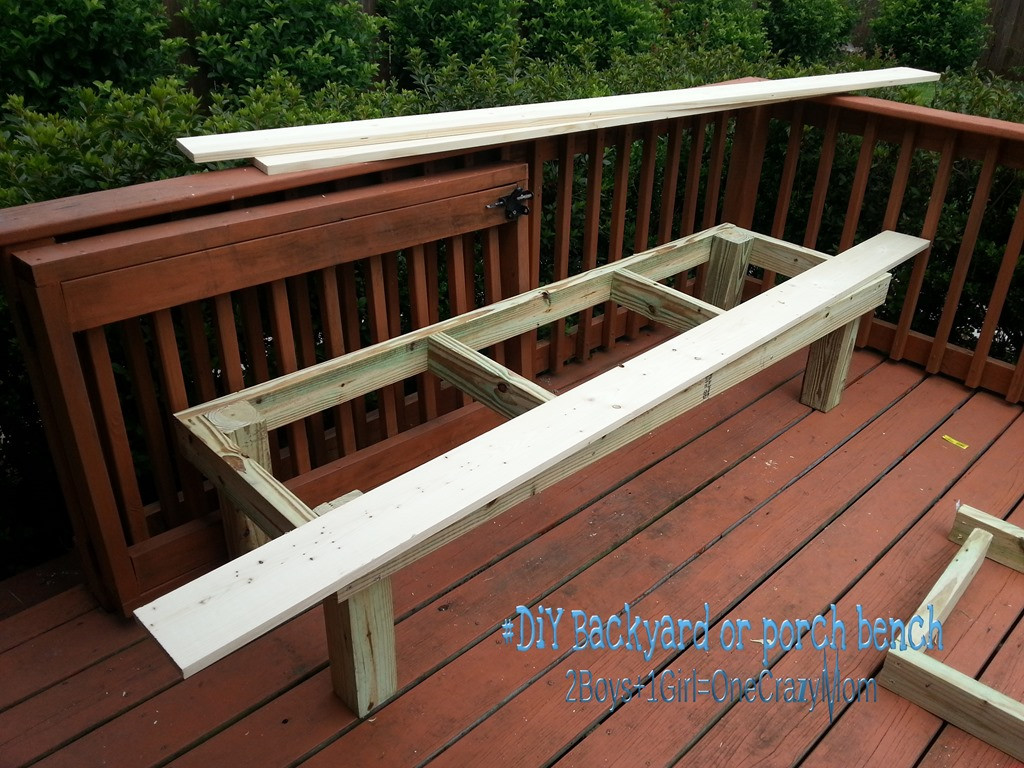 Best ideas about Diy Patio Bench . Save or Pin Create a simple DIY backyard seating area in a weekend Now.