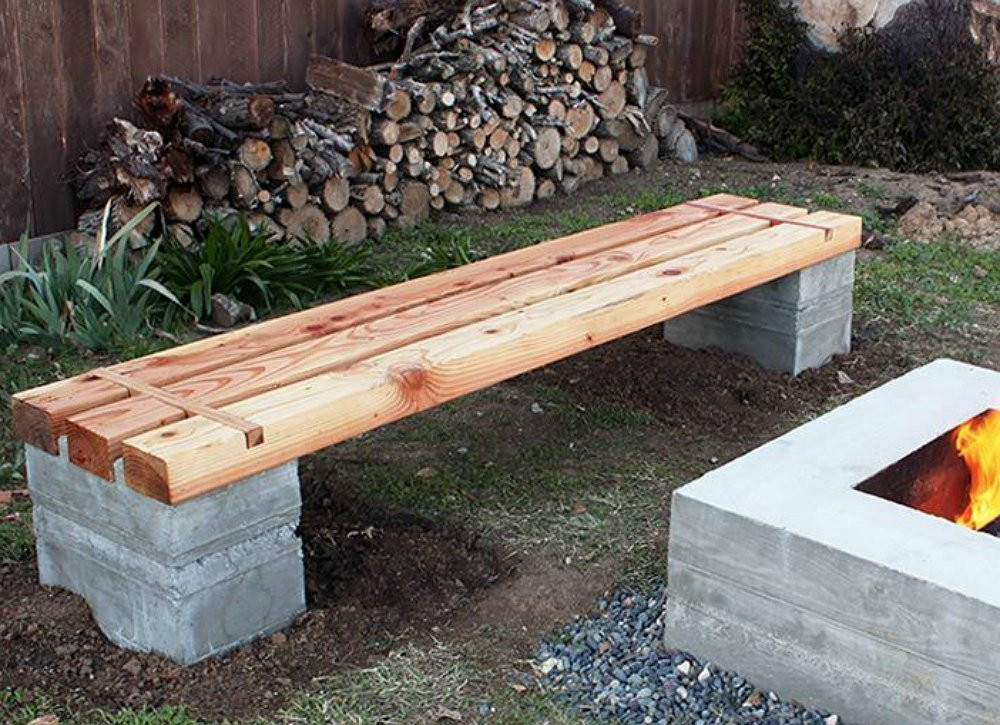 Best ideas about Diy Patio Bench . Save or Pin DIY Wood Projects 10 Easy Backyard Ideas Bob Vila Now.