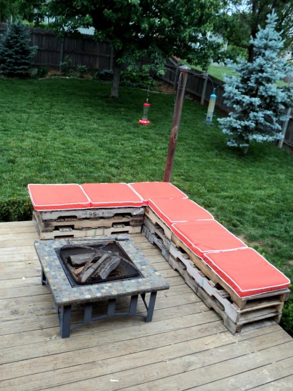 Best ideas about Diy Patio Bench . Save or Pin exterior Antique DIY Patio Bench Gaining Unique Exterior Now.