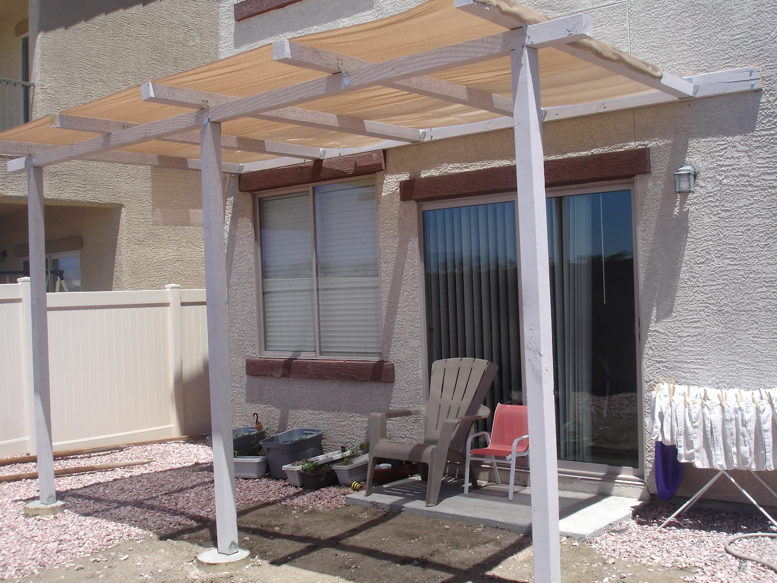 Best ideas about Diy Patio Covers . Save or Pin Alex Haralson Update Our DIY Patio Cover Now.