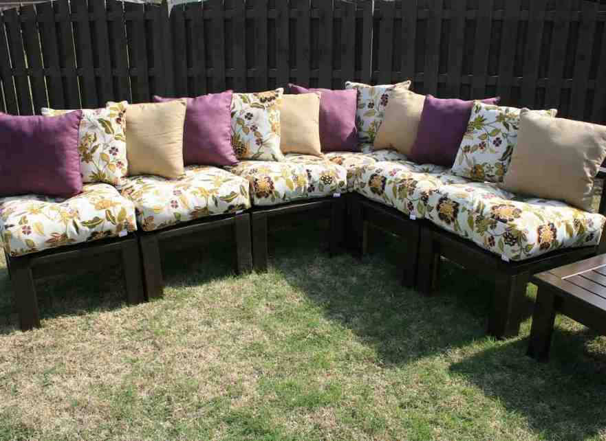 Best ideas about DIY Patio Cushions . Save or Pin Diy Patio Chair Cushions Home Furniture Design Now.