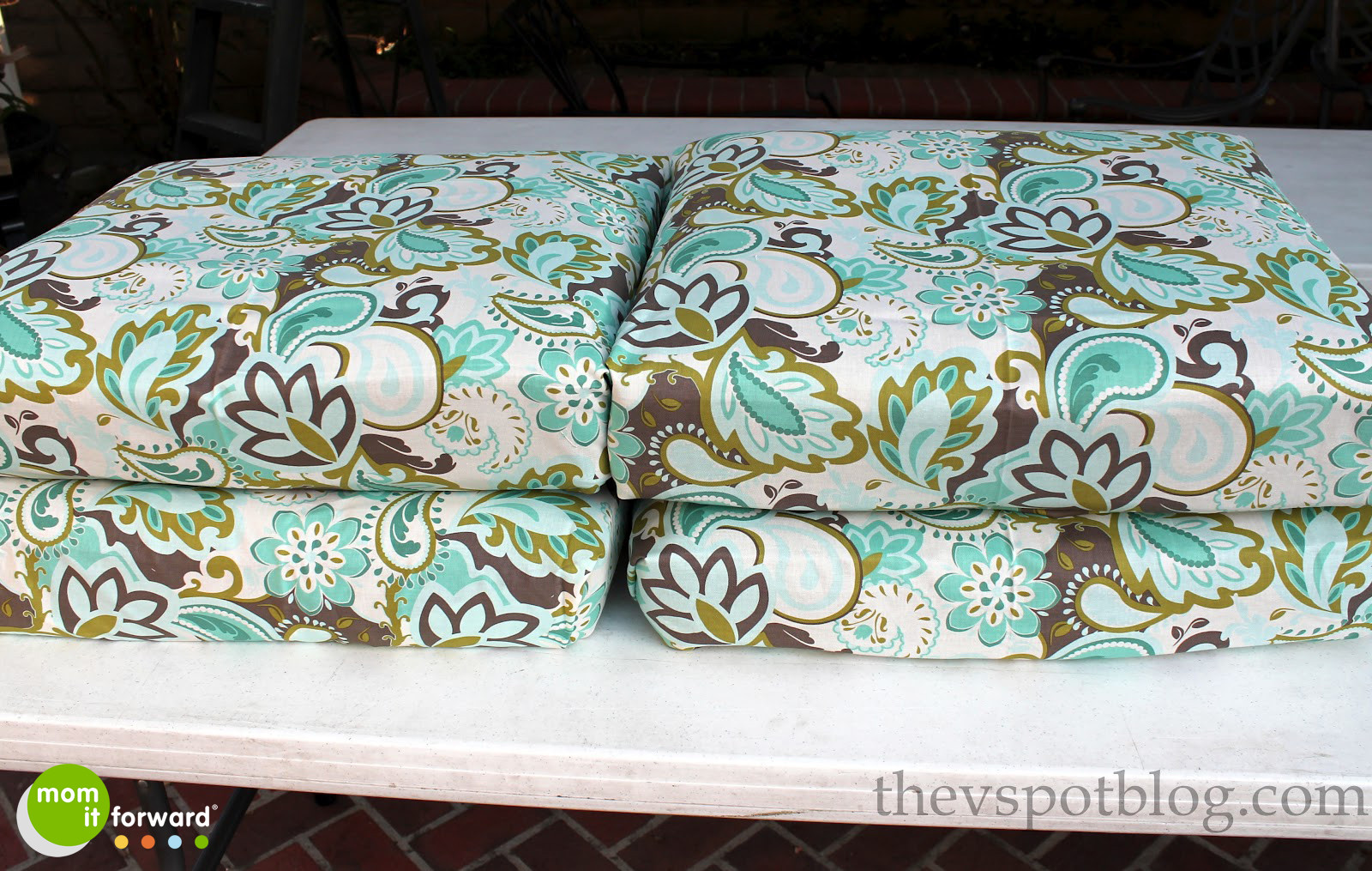 Best ideas about DIY Patio Cushions . Save or Pin DIY How to Recover Outdoor Furniture With a Glue Gun Now.