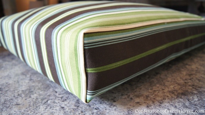Best ideas about DIY Patio Cushions . Save or Pin Sew Easy Outdoor Cushion Covers Ol but Goo Now.