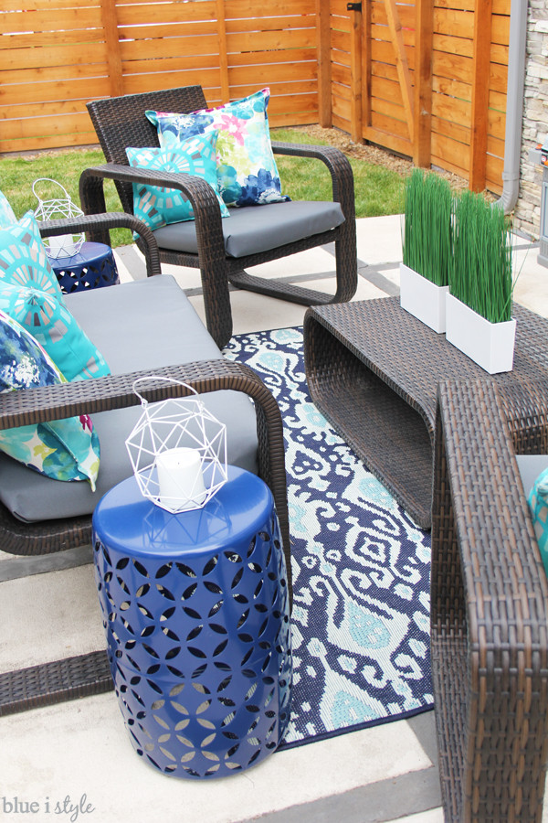 Best ideas about DIY Patio Cushions . Save or Pin diy with style The No Sew Way to Reupholster Outdoor Now.