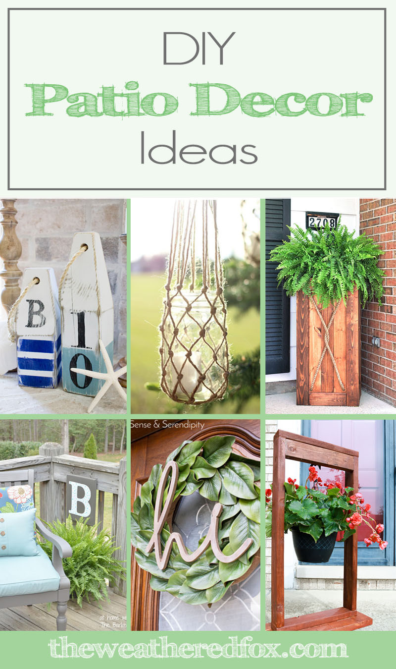 Best ideas about DIY Patio Decor Ideas . Save or Pin DIY Patio Decor Ideas to Spruce Up Your Exterior The Now.