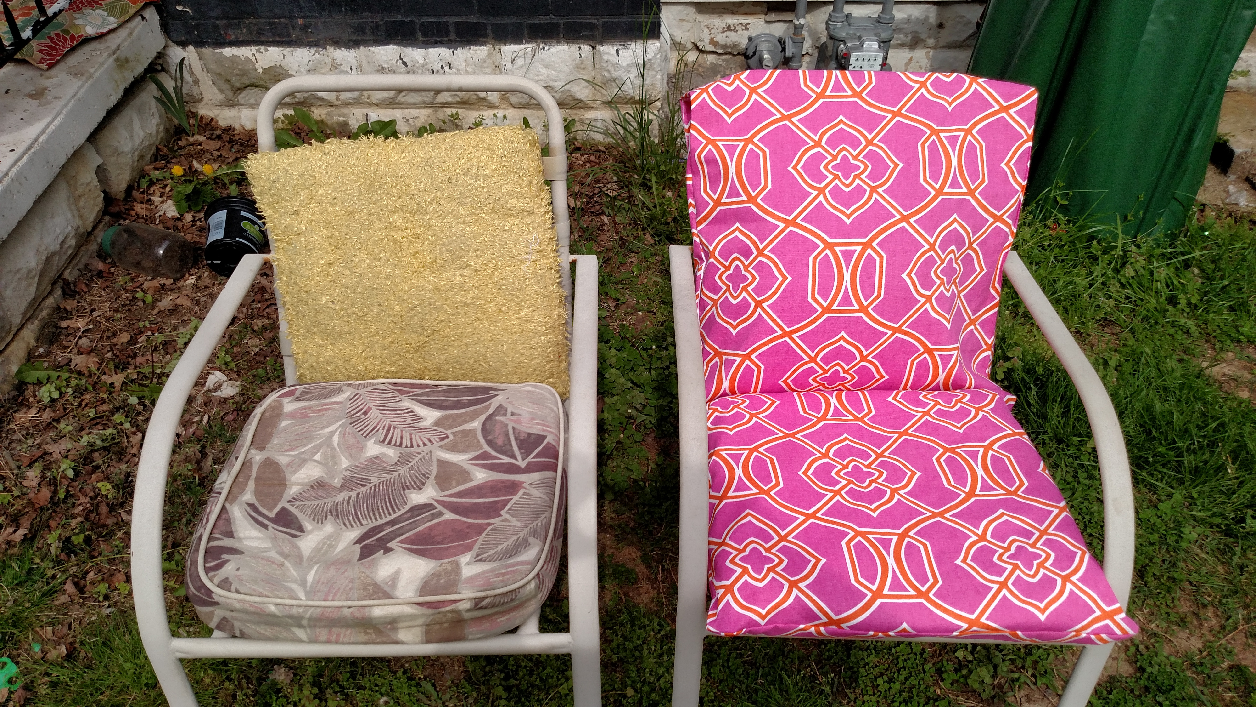 Best ideas about DIY Patio Furniture Cushions . Save or Pin DIY Outdoor Cushions Modern Homemakers Now.
