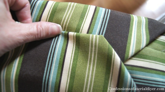 Best ideas about DIY Patio Furniture Cushions . Save or Pin Sew Easy Outdoor Cushion Covers Ol but Goo Now.