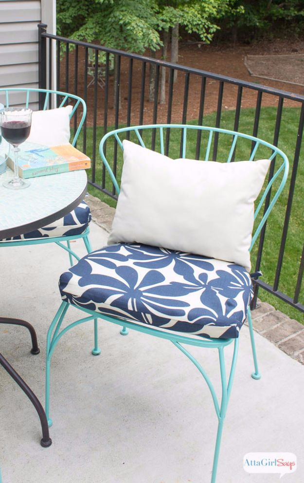 Best ideas about DIY Patio Furniture Cushions . Save or Pin 33 Creative Sewing Projects for Your Patio Now.