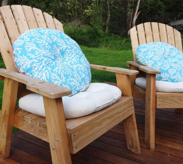 Best ideas about DIY Patio Furniture Cushions . Save or Pin DIY Easy Outdoor Cushions Now.