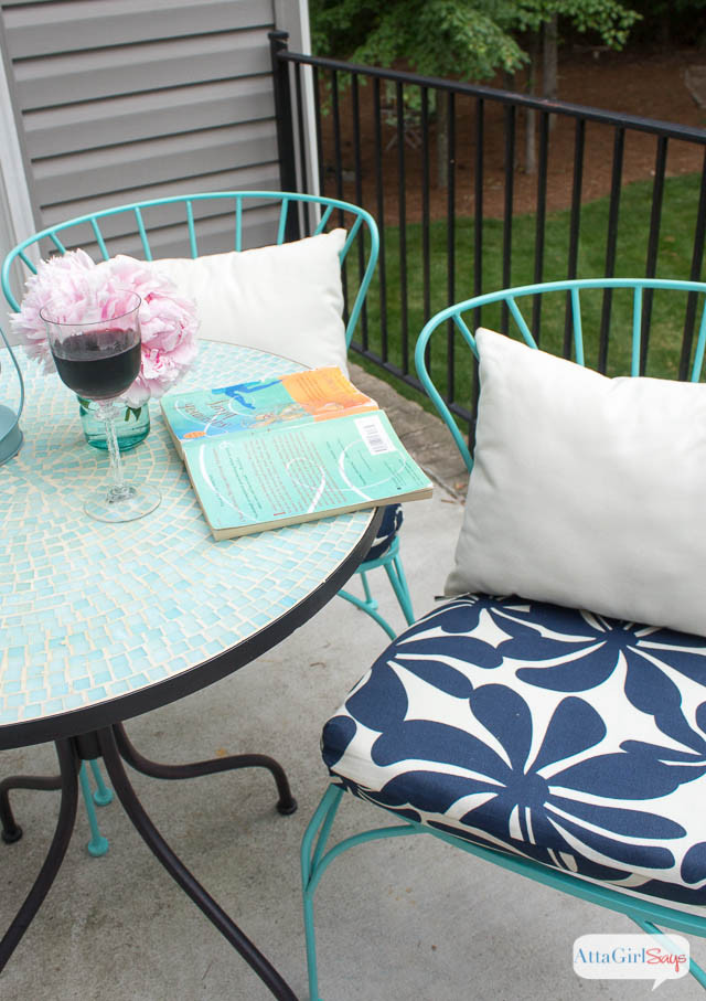Best ideas about DIY Patio Furniture Cushions . Save or Pin Porch Makeover Progress DIY Outdoor Chair Cushions Atta Now.
