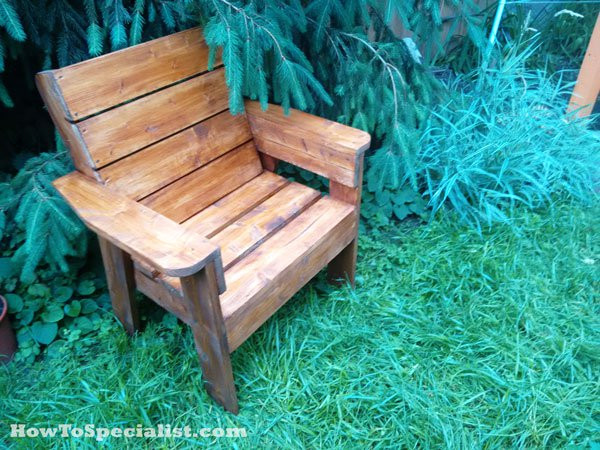 Best ideas about DIY Patio Furniture Plans . Save or Pin DIY Patio Chair Now.