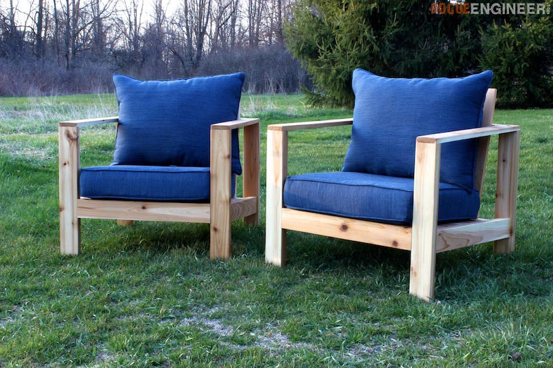 Best ideas about DIY Patio Furniture Plans . Save or Pin Outdoor Arm Chair Rogue Engineer Now.