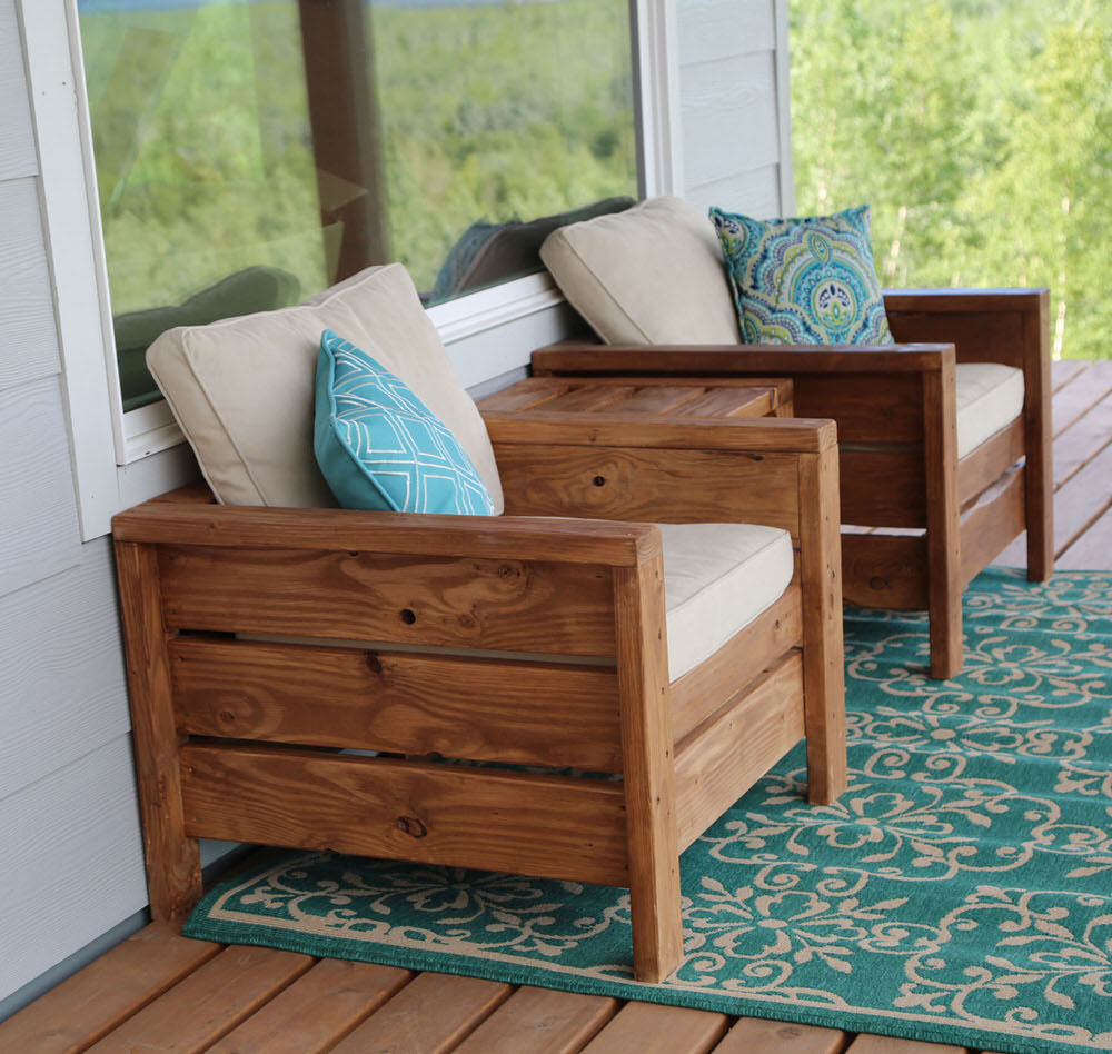 Best ideas about DIY Patio Furniture Plans . Save or Pin 14 Super Cool DIY Backyard Furniture Projects Now.