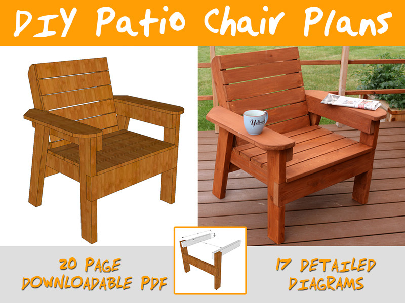 Best ideas about DIY Patio Furniture Plans . Save or Pin DIY PETE on Gumroad Now.
