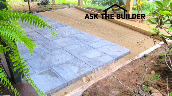 Best ideas about DIY Pavers Patio . Save or Pin A New Paver Patio Can Be a DIY Job No Need For Heavy Gravel Now.