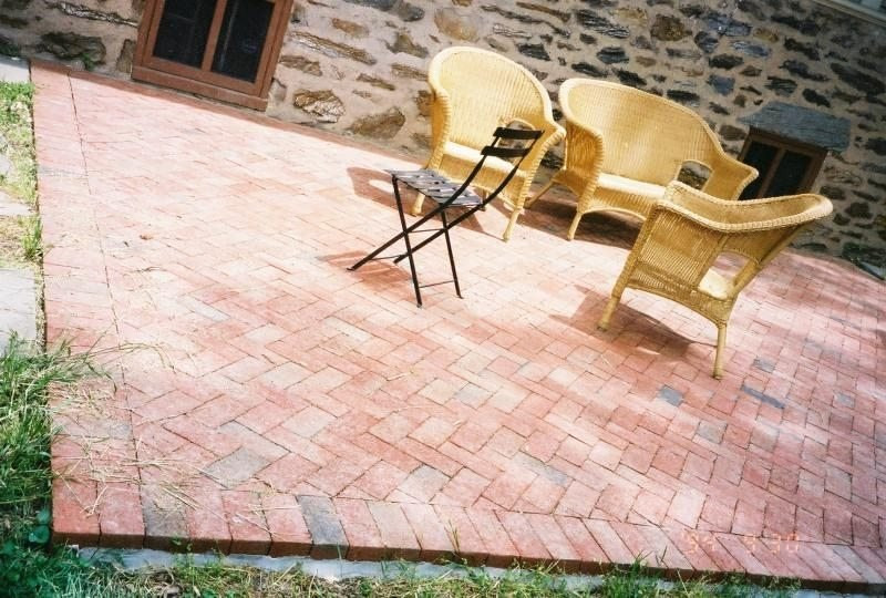 Best ideas about DIY Pavers Patio . Save or Pin 20 Charming Brick Patio Designs Now.