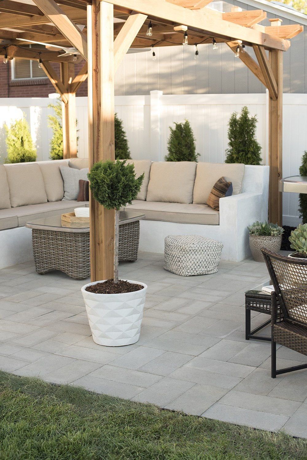 Best ideas about DIY Pavers Patio . Save or Pin How to Install A Custom Paver Patio Room for Tuesday Blog Now.