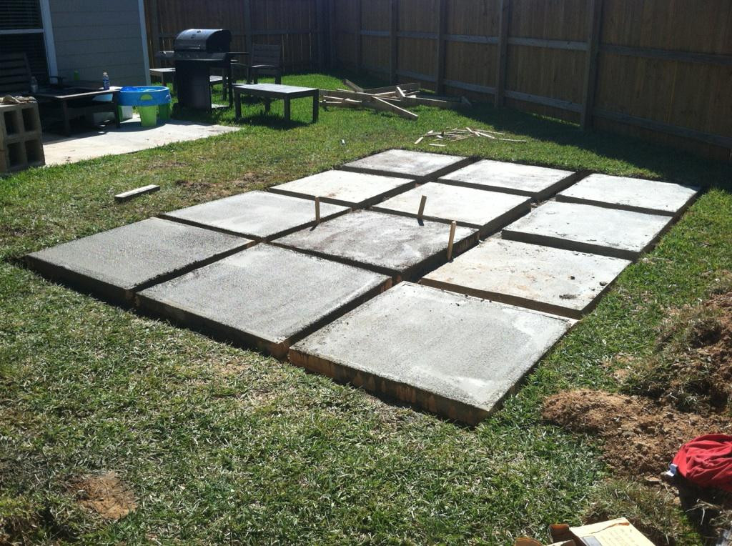 Best ideas about DIY Pavers Patio . Save or Pin A Roll Acosta Life DIY Backyard Patio Part 2 Now.