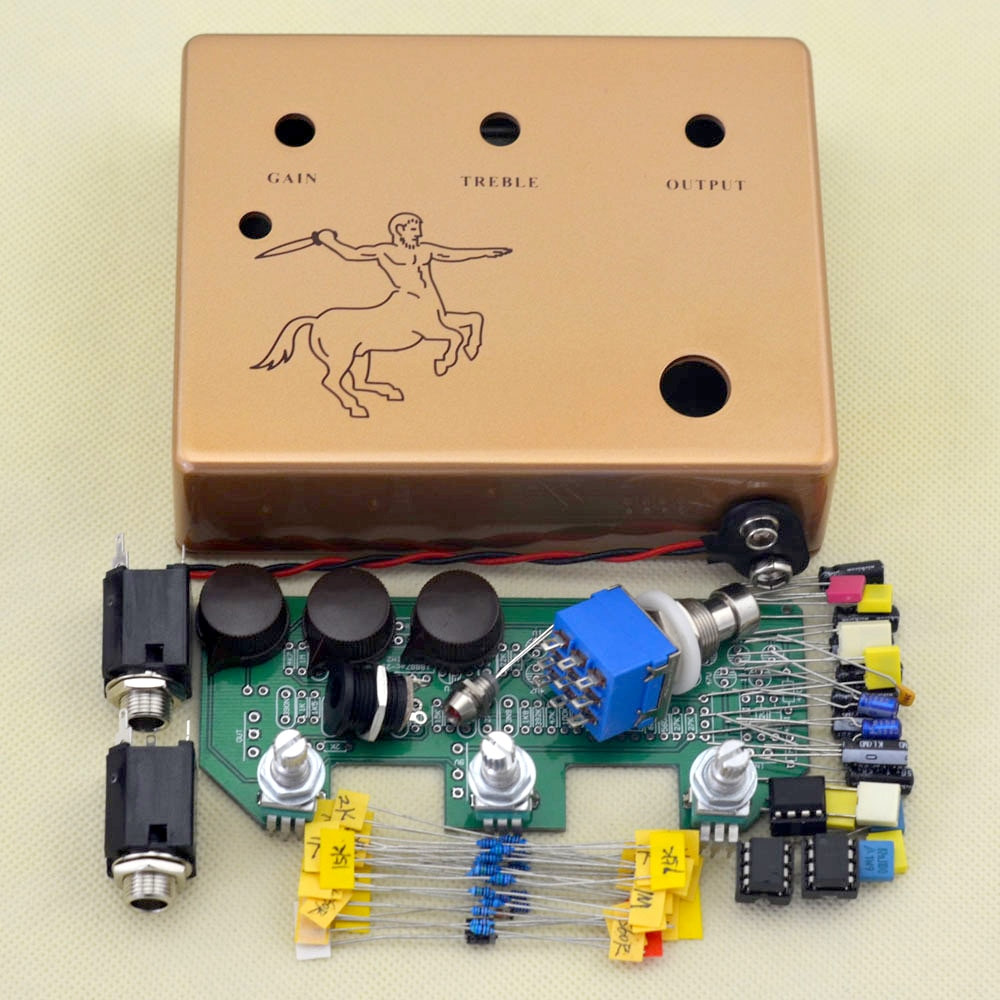Best ideas about DIY Pedals Kits . Save or Pin DIY KLON overdrive pedal kit electric guitar boost Now.