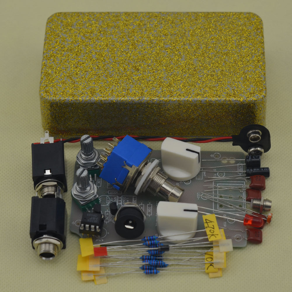Best ideas about DIY Pedals Kits . Save or Pin DIY pressor effect pedal guitar stomp pedals Kit Now.