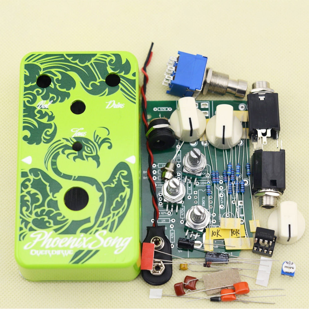 Best ideas about DIY Pedals Kits . Save or Pin DIY Overdrive Guitar Effect Pedal True Bypass with 1590B Now.