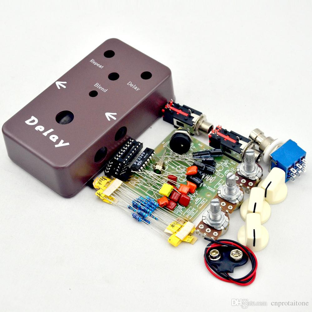 Best ideas about DIY Pedals Kits . Save or Pin DIY Delay Pedal Kit Make Your Own Effect Pedals Kits And Now.
