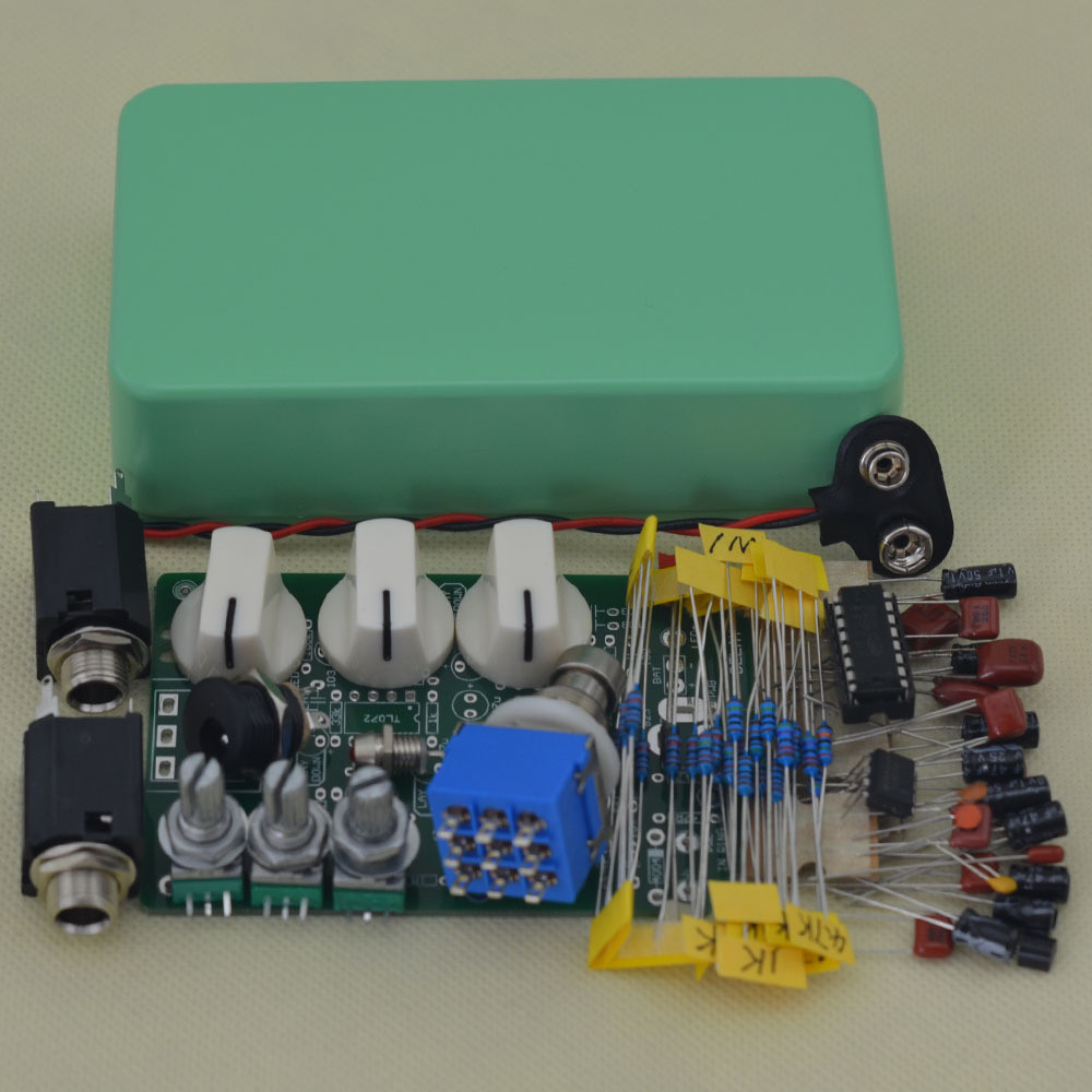 Best ideas about DIY Pedals Kits . Save or Pin DIY Full Delay pedal kit Guitar Effect Pedals use 6 35 mm Now.